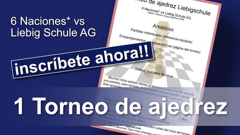 1 Torneo de ajedrez
