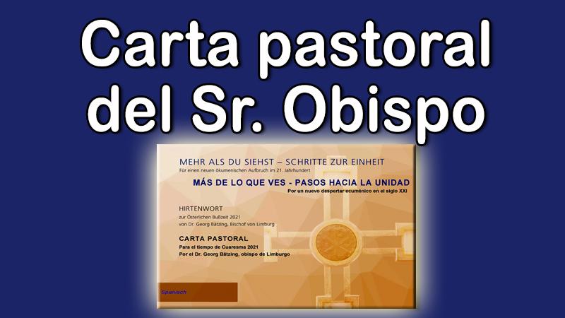 Carta pastoral 2021