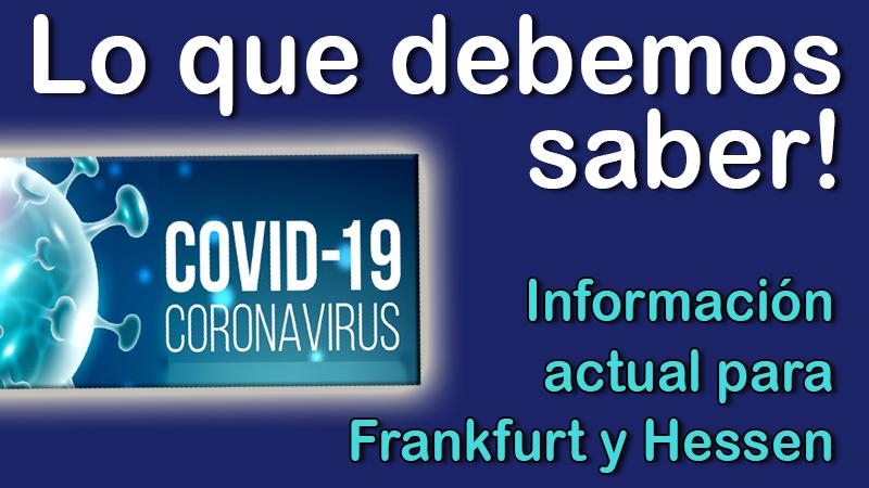 Covid-19: Indicaciones actualizadas